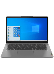 """Lenovo IdeaPad Slim 3 (81WA00K1IN) 14"""" FHD Laptop (Core i3-10110U / 8GB /256GB SSD /UHD Graphics /Win 10 /Office 2019) Platiunum Grey"""