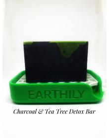 Earthily Charcoal & Tea Tree Detox Bar