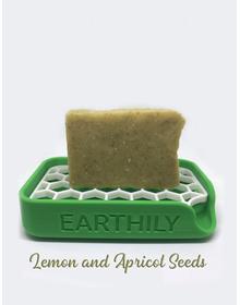 Earthily Lemon & Apricot seeds soap
