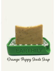 Earthily Orange and Poppy Seeds soap