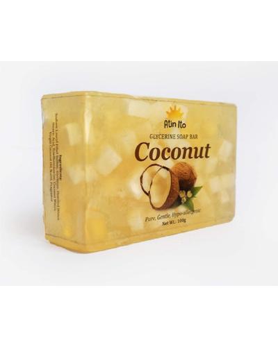 Coconut Glycerin Soap Bar 100 Grams-CocoGlycerineSoapBar100g