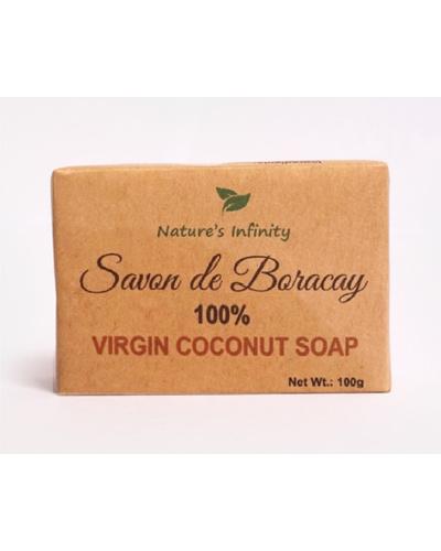 Savon de Boracay Virgin Coconut Soap Bar 100 Grams-VirginCoconutSoapBar100g