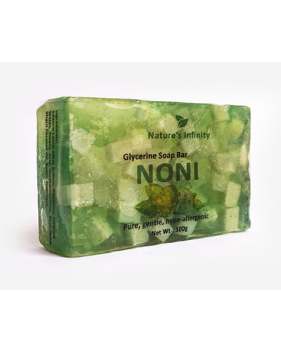 Noni Glycerine Soap Bar 100 Grams-NoniGlycerineSoapBar100g