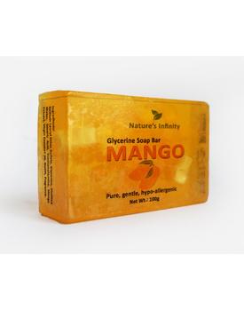 Mango Glycerine Soap Bar 100 Grams