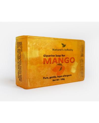 Mango Glycerine Soap Bar 100 Grams-MangoGlycerineSoapBar100g