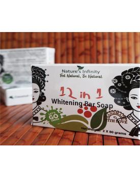 12 In 1 Whitening Soap Bar 2 x 80 Grams