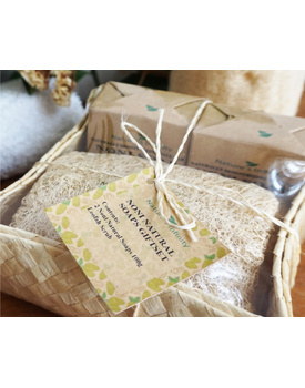 Noni Black Soap (2 Soaps with Loofah)