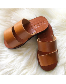 Boy's Toddler Leather Sandals