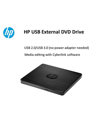 HP USB External DVD Drive-F2B56AA