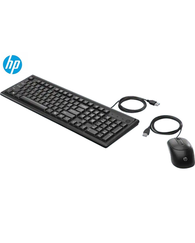 HP Wired Keyboard & Mouse Combo 160-6HD76AA