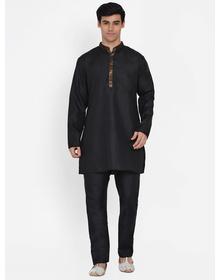 Baawara By Bhama black kurta pajama set