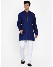 Baawara By Bhama blue kurta pajama set