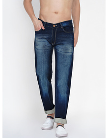 Baawara by Bhama Men Blue  Mid-Rise Stretchable Jeans
