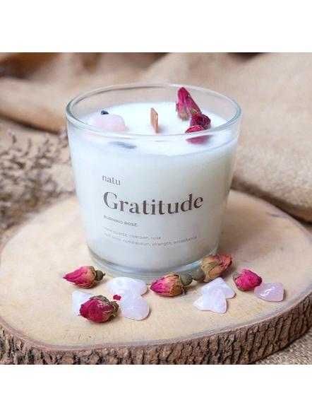 Gratitude Soy Candle Lifestyle Shot