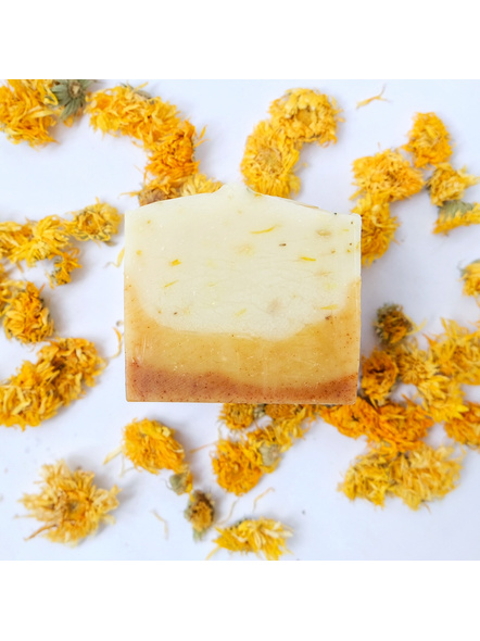 Calming Calendula and Chamomile Soap - naturally scented for sensitive skin-NTU-CAL-2