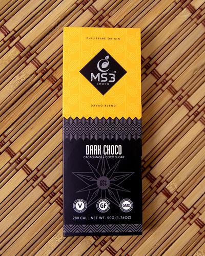 MS3 Choco 65% Dark Chocolate 50g-2149362084