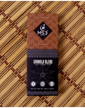MS3 Choco 60% Granola Blend 50g