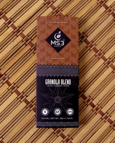 MS3 Choco 60% Granola Blend 50g-2149351348