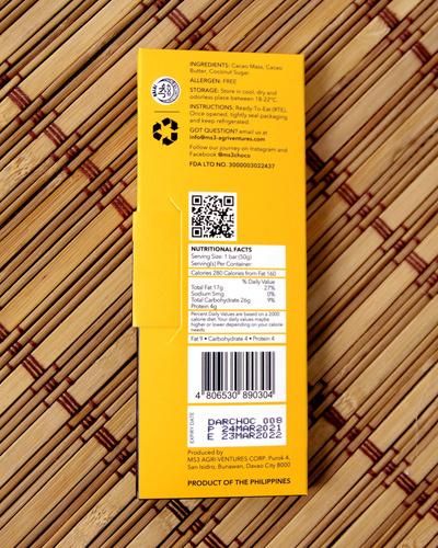 MS3 Choco 65% Dark Chocolate 50g-2