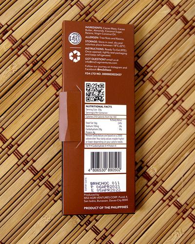MS3 Choco 60% Granola Blend 50g-2
