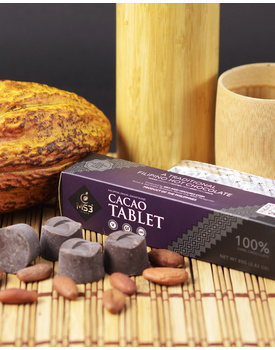 100% Cacao Tablet 80g