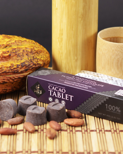 100% Cacao Tablet 80g-2167559792