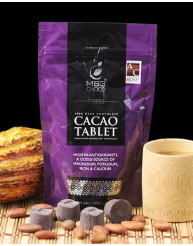 100% Cacao Tablet 150g