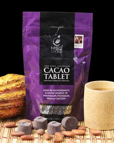 100% Cacao Tablet 150g-2149291848-1