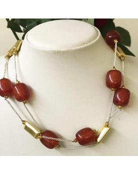 Carmine necklace
