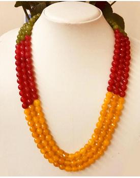 Marigold necklace