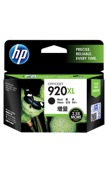CD975AA HP 920XL High Yield Black Original Ink Cartridge