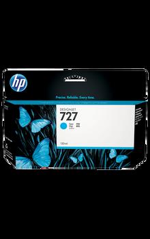 B3P19A - HP 727 130-ml Cyan Designjet Ink Cartridge