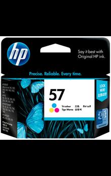 C6657AA HP 57 Tri-color Original Ink Cartridge