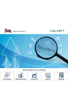 GST Ready Accounting & ERP Software - Tally.ERP 9 Silver