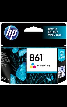 CB337ZZ HP 861 Tri-color Original Ink Cartridge