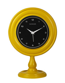 RANGRAGE ELEGANT AMBER DESIGNER TABLE CLOCK