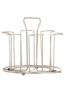 SKEPICK Sky Stainless Steel Glass Stand - Regular Wire Type