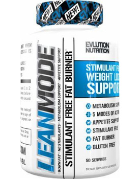 Evlution Nutrition Lean Mode Stimulant-Free Weight Loss Supplement with Garcinia Cambogia, CLA and G