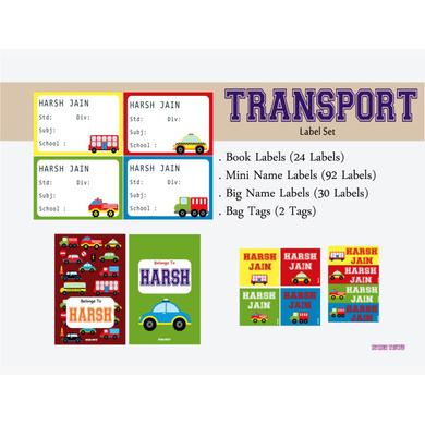 Transport Theme Label Set-PPLS03