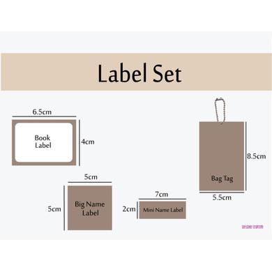 Transport Theme Label Set-1