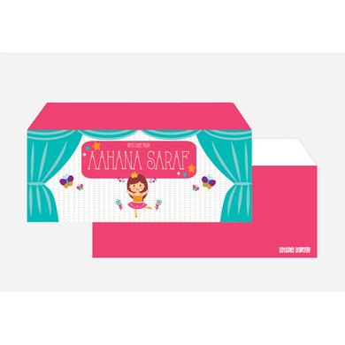 Ballerina Theme envelope Set-PPEN05