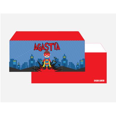 Superhero Theme Envelope Set-PPEN12