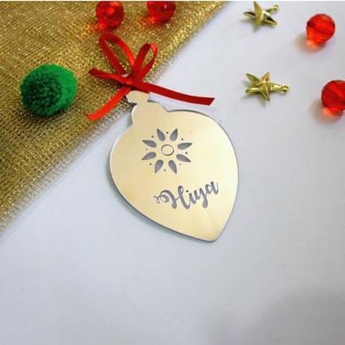 Drop Ornament - SILVER MIRROR-or8