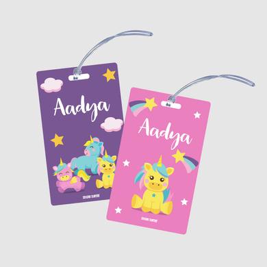 Baby Unicorn Theme Bag Tags-bagtag7