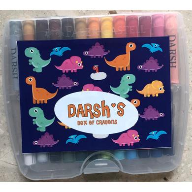 Dino Theme Crayon Box-ppcr4