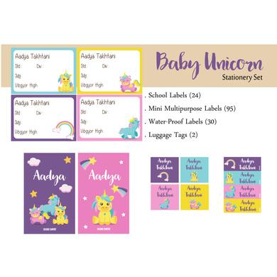 Baby Unicorn Theme Label Set-PPLB18