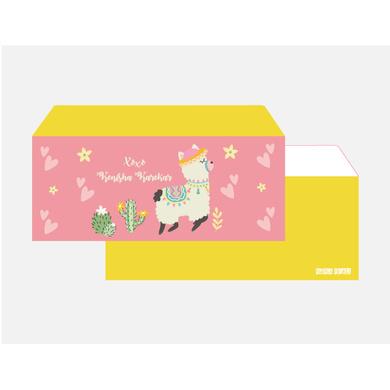 Llama Theme envelope Set-PPEN21