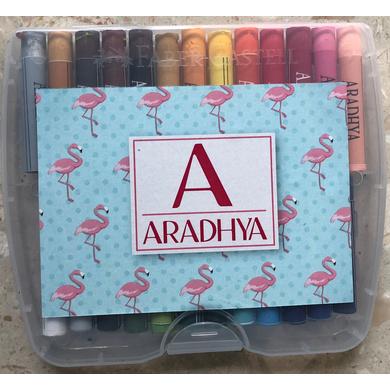 Flamingo Theme Crayon Box-ppcr7