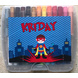 Superhero Theme Crayon Box-pcr17-sm