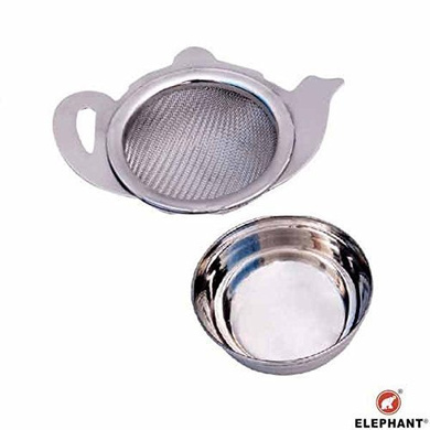 Elephant Cup Tea/ Coffee Strainer With Steel Bowl-11155